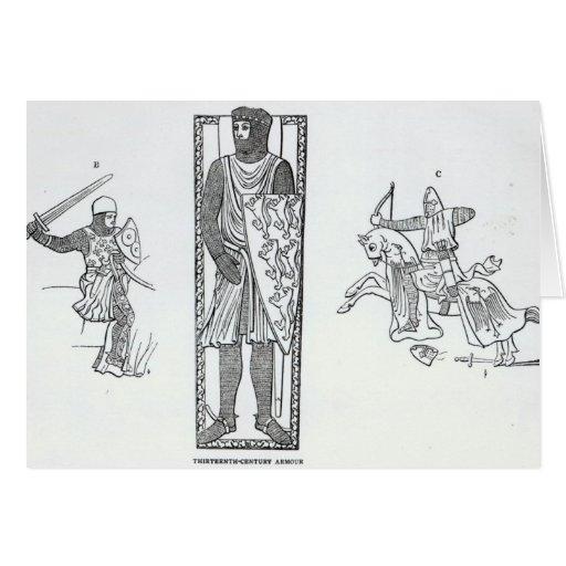 Thirteenth-century armour greeting cards