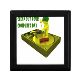 Thirteenth February - Clean Out Your Computer Day Gift Box