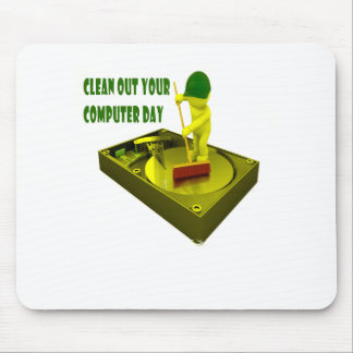 Thirteenth February - Clean Out Your Computer Day Mouse Pad