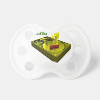 Thirteenth February - Clean Out Your Computer Day Pacifiers