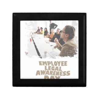 Thirteenth February - Employee Legal Awareness Day Gift Box