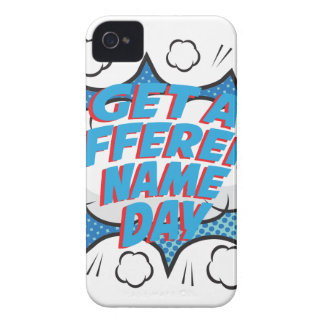 Thirteenth February - Get A Different Name Day Case-Mate iPhone 4 Cases