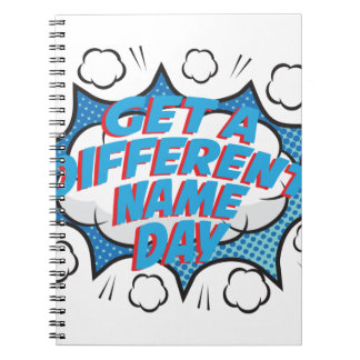 Thirteenth February - Get A Different Name Day Notebooks
