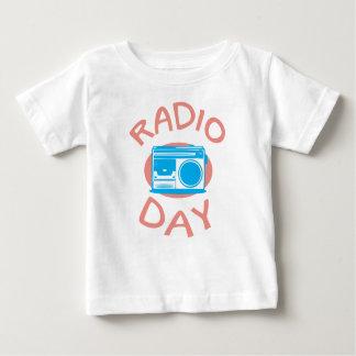 Thirteenth February - Radio Day - Appreciation Day Baby T-Shirt