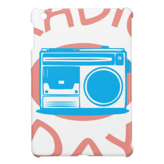 Thirteenth February - Radio Day - Appreciation Day iPad Mini Cover