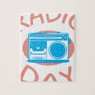 Thirteenth February - Radio Day - Appreciation Day Jigsaw Puzzle