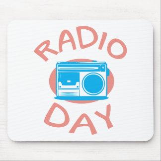 Thirteenth February - Radio Day - Appreciation Day Mouse Pad