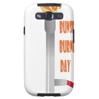Thirty-first March - Bunsen Burner Day Galaxy SIII Covers
