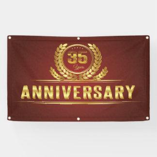 thirty five year Anniversary Banner