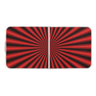Thirty Two Rays in Red Beer Pong Table