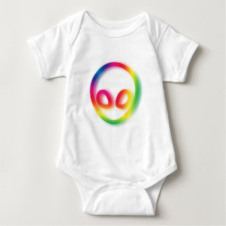 This Alien isn't Gray - its Hip ! Baby Bodysuit