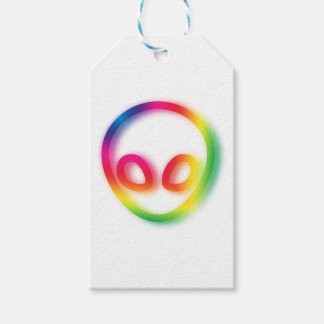 This Alien isn't Gray - its Hip ! Gift Tags
