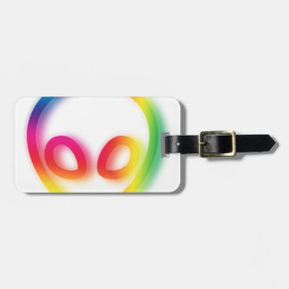 This Alien isn't Gray - its Hip ! Luggage Tag
