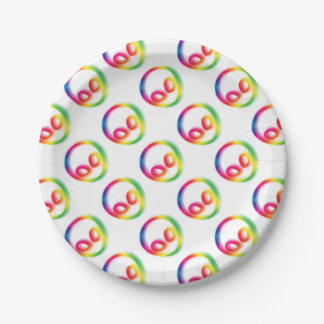 This Alien isn't Gray - its Hip ! Paper Plate