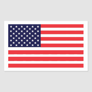 This American Flag Sticker