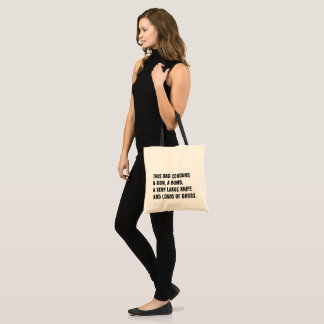 This bag contains - Totebag - shopping bag