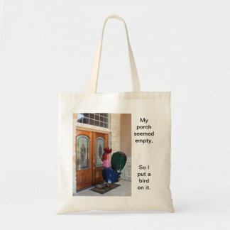 This bag is based on the true story of my life.