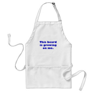 This Beard is Growing on Me Standard Apron