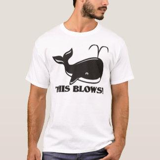 This Blows Whale Design T-Shirt