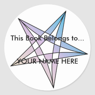 This Book Belongs too... - Sticker