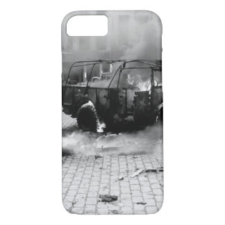 This boy's dead body, aflame_War Image iPhone 7 Case