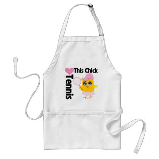 This Chick Loves Tennis Standard Apron