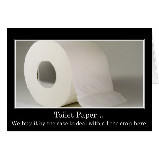 This company must use a lot of toilet paper cards