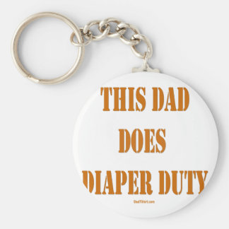 THIS DAD DOES DIAPER DUTY KEYCHAINS