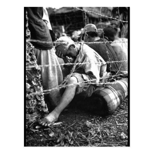 This disconsolate Japanese prisoner_War Image Postcard