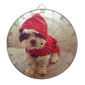 This dog hates rain dartboard