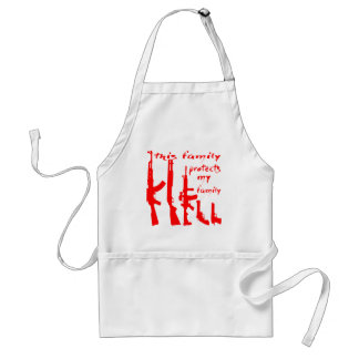 This Family Protects My Family Standard Apron