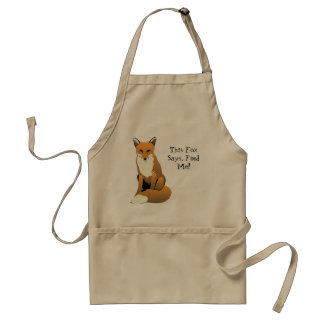 This Fox Says Feed Me Apron