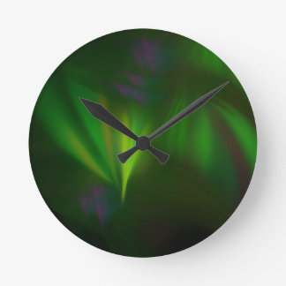 This fractal looks like aurora round clock