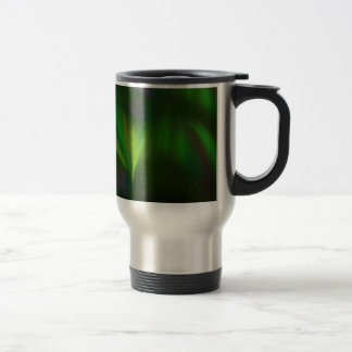This fractal looks like aurora travel mug