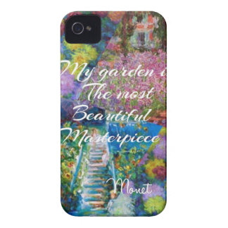 This garden is a masterpiece iPhone 4 case