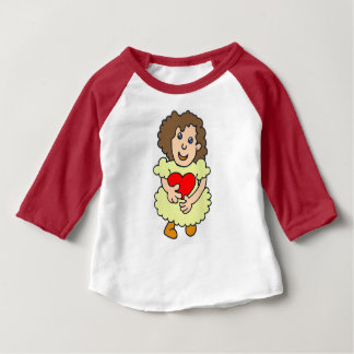 This girl has a big heart baby T-Shirt