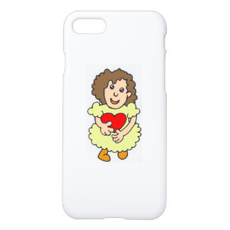 This girl has a big heart iPhone 8/7 case