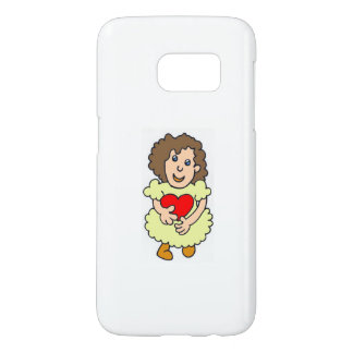 This girl has a big heart samsung galaxy s7 case