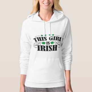 This Girl Is Irish Hoodie