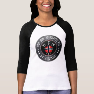 This Girl Is Protected by a Viking - Norse Sword T-Shirt
