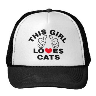 This Girl Loves Cats Trucker Hat
