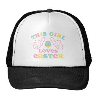 This Girl Loves Easter Trucker Hat