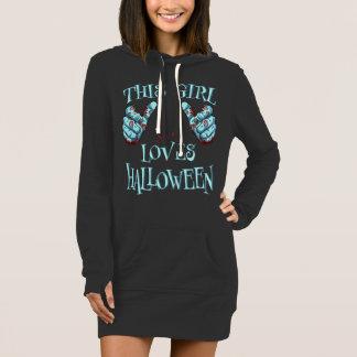 This Girl Loves Halloween Zombie Halloween Dress