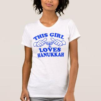 This Girl Loves Hanukkah T-Shirt