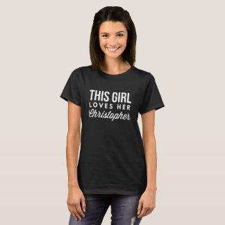This girl loves her Christopher T-Shirt