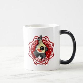 This Girl Loves Her Cockatiel Magic Mug