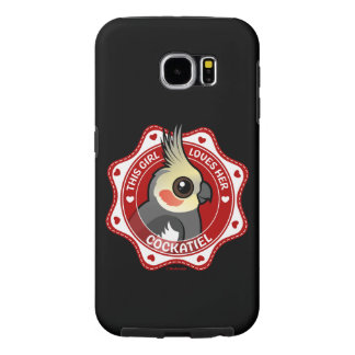 This Girl Loves Her Cockatiel Samsung Galaxy S6 Cases