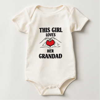 This girl loves her Grandad Baby Bodysuit