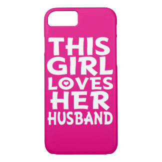 This Girl Loves her Husband Phone case