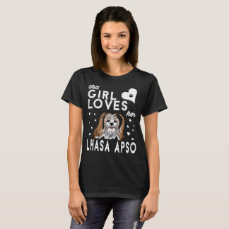 This Girl Loves Her Lhasa Apso T-Shirt